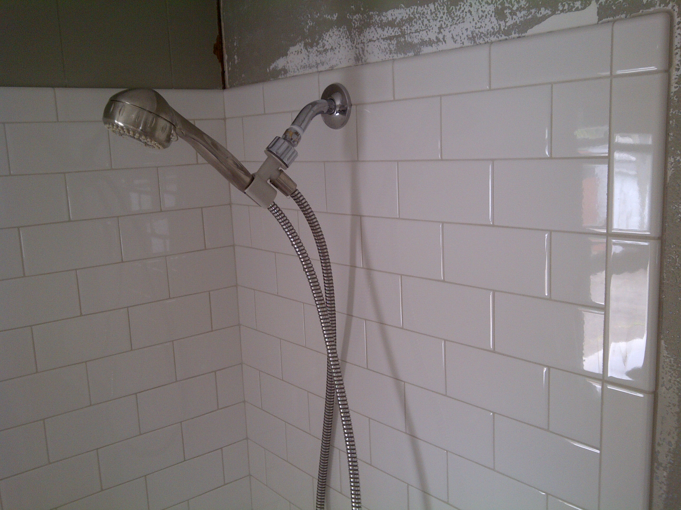 Tile geek framed subway tile shower old school renovations inc img 20110607 00129 dailygadgetfo Image collections