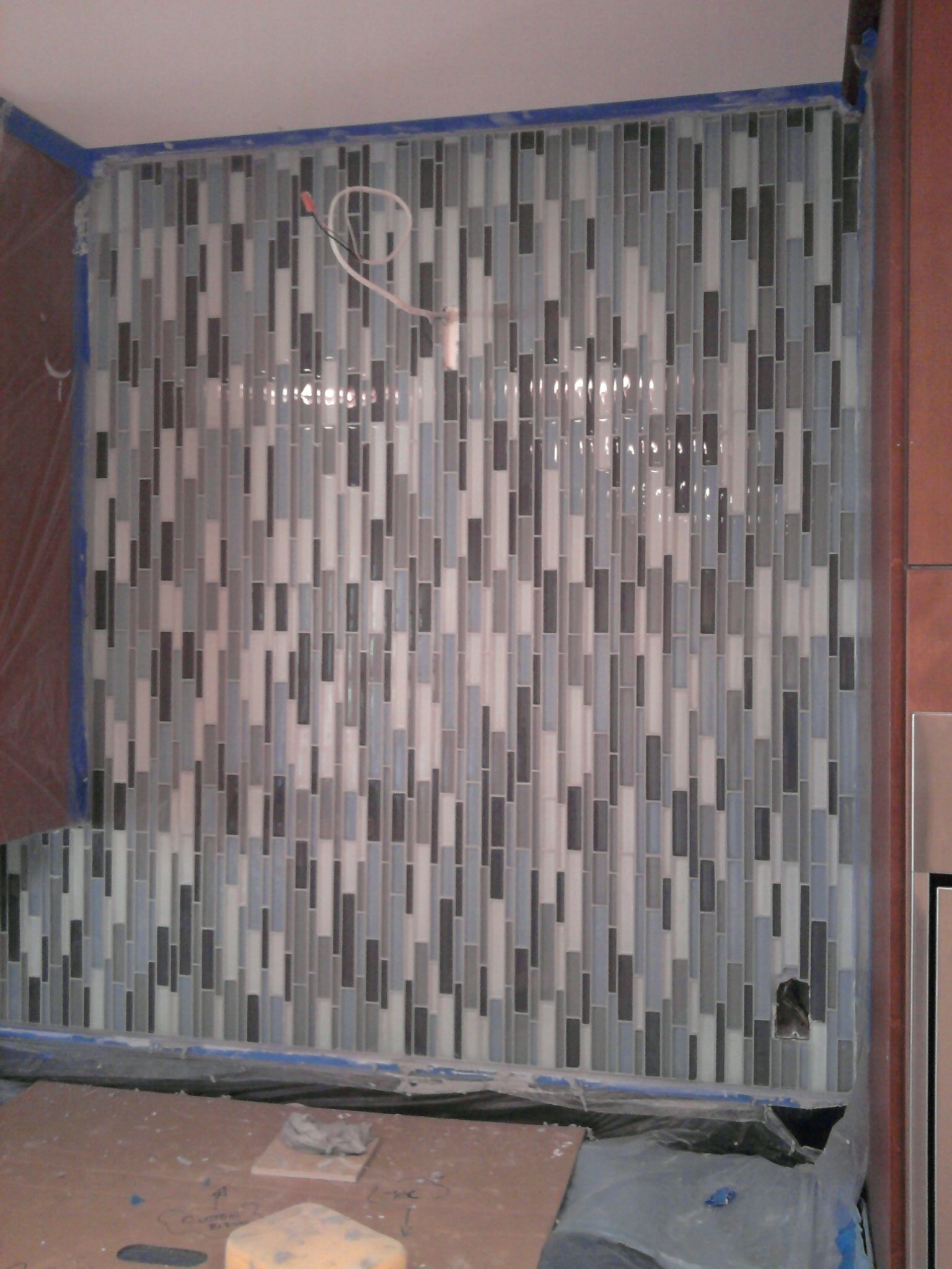 grouting glass tile backsplash glass tile grout colors