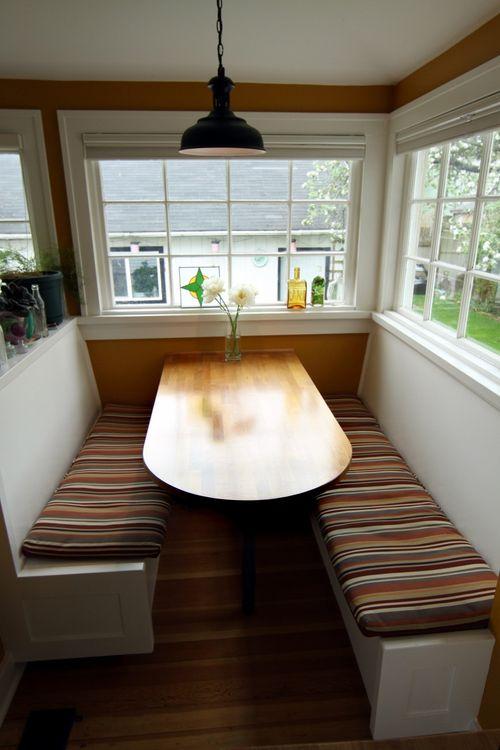 Breakfast Nook: Ikea . . . but just a little